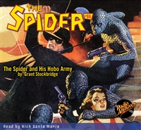 The Spider Audiobook - # 86 The Spider and His Hobo Army