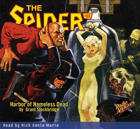 The Spider Audiobook - # 88 Harbor of Nameless Dead