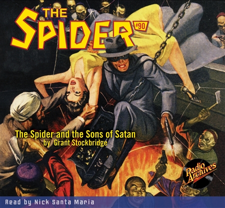 The Spider Audiobook - # 90 The Spider and the Sons of Satan