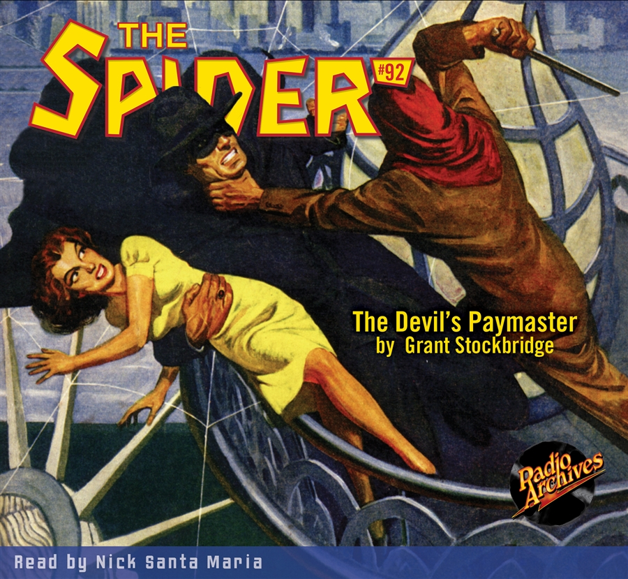 Spider Audiobook # 92 The Devil's Paymaster - 5 hours [Audio CDs] #RA653
