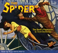 The Spider Audiobook - # 92 The Devil's Paymaster