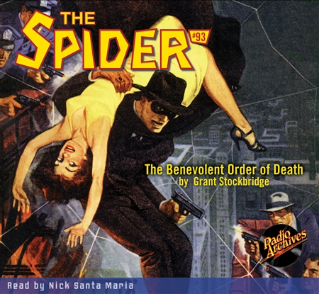 The Spider Audiobook - # 93 The Benevolent Order of Death