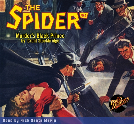 The Spider Audiobook - # 94 Murder's Black Prince
