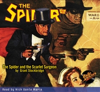 The Spider Audiobook - # 95 The Spider and the Scarlet Surgeon