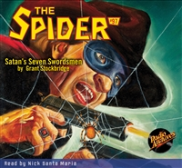 The Spider Audiobook - # 97 Satan's Seven Swordsmen