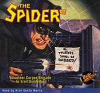 The Spider Audiobook - # 98 Volunteer Corpse Brigade
