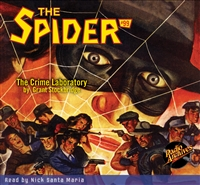 The Spider Audiobook - # 99 The Crime Laboratory