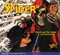 The Spider Audiobook - #100 Death and The Spider