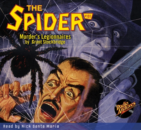 The Spider Audiobook - #101 Murder's Legionnaires