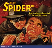 The Spider Audiobook - #102 The Gentleman From Hell