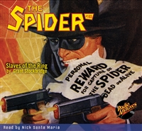 The Spider Audiobook - #103 Slaves of the Ring