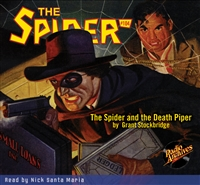 The Spider Audiobook - #104 The Spider and the Death Piper