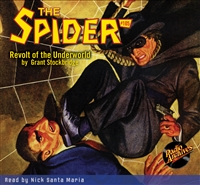 The Spider Audiobook - #105 Revolt of the Underworld