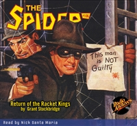 The Spider Audiobook - #106 Return of the Racket Kings