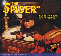 The Spider Audiobook - #107 Fangs of the Dragon