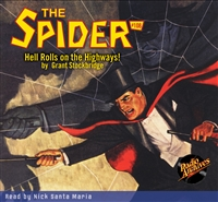 The Spider Audiobook - #108 Hell Rolls on the Highways!
