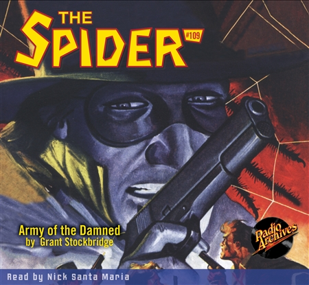 The Spider Audiobook - #109 Army of the Damned