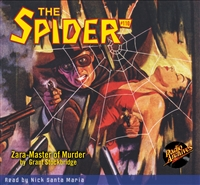The Spider Audiobook - #110 Zara-Master of Murder