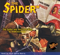 The Spider Audiobook - #111 The Spider and the Flame King