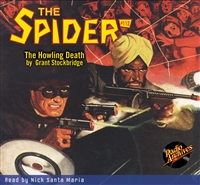 The Spider Audiobook - #112 The Howling Death