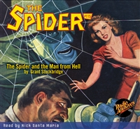 The Spider Audiobook - #115 The Spider and the Man from Hell