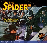 The Spider Audiobook - #116 The Criminal Horde