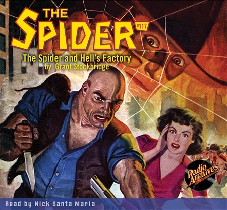 The Spider Audiobook - #117 The Spider and Hell's Factory