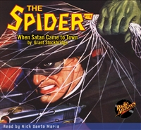 The Spider Audiobook - #118 When Satan Came to Town