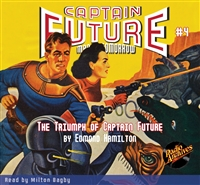 Captain Future Audiobook # 4 The Triumph of Captain Future