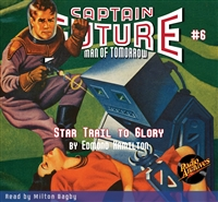 Captain Future Audiobook # 6 Star Trail to Glory