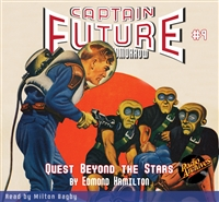 Captain Future Audiobook # 9 Quest Beyond the Stars
