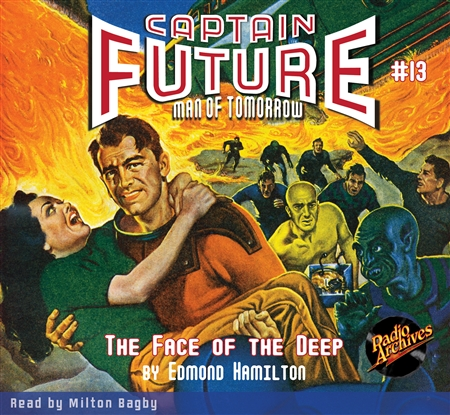 Captain Future Audiobook #13 The Face of the Deep