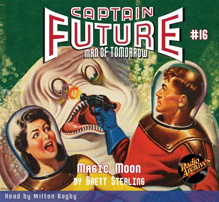 Captain Future Audiobook #16 Magic Moon
