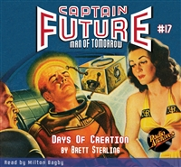 Captain Future Audiobook #17 Days of Creation