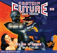 Captain Future Audiobook #18 Red Sun of Danger