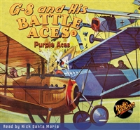 G-8 and His Battle Aces Audiobook #  2  Purple Aces