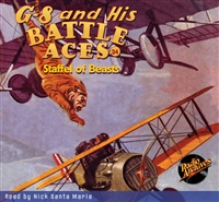 G-8 and His Battle Aces Audiobook # 24 Staffel of Beasts