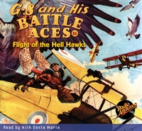 G-8 and His Battle Aces Audiobook #50 Flight of the Hell Hawks