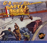 G-8 and His Battle Aces Audiobook #63 The Bloody Wings of the Vampire