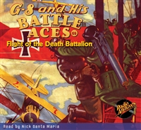 G-8 and His Battle Aces Audiobook #69 Flight of the Death Battalion