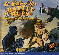 G-8 and His Battle Aces Audiobook # 90 Raiders of the Red Death