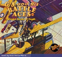 G-8 and His Battle Aces Audiobook #105 Winged Beasts of Death