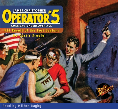 Operator #5 Audiobook #33 Revolt of the Lost Legions