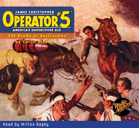 Operator #5 Audiobook #34 Drums of Destruction
