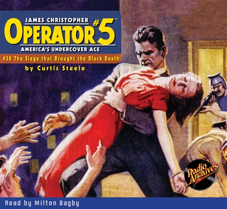 Operator #5 Audiobook #38 The Siege that Brought the Black Death