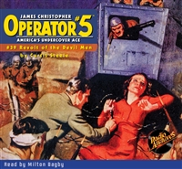 Operator #5 Audiobook #39 Revolt of the Devil Men