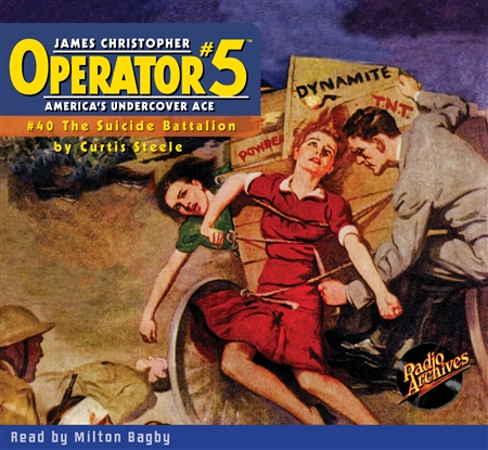 Operator #5 Audiobook #40 The Suicide Battalion