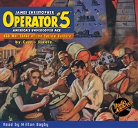 Operator #5 Audiobook #46 War Tanks of the Yellow Vulture