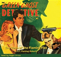 The Green Ghost Detective Audiobook #5 Winter 1941