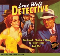 Lone Wolf Detective Audiobook April 1941